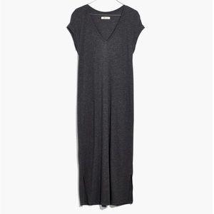 Madewell Dresses - Madewell V-Neck Horizon Midi Dress Size Large